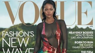 """Rihanna na dwóch kwietniowych okładkach magazynu """"Vogue"""""""