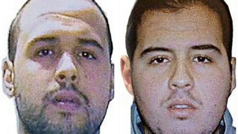 Khalid és Ibrahim El Bakraoui, a két elkövető /Fotó: AFP