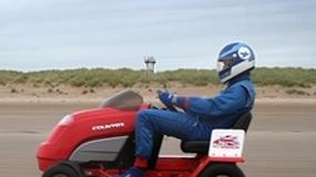 Kosić trawę z prędkością 160 km/h