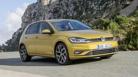 VW Golf po liftingu już w salonach