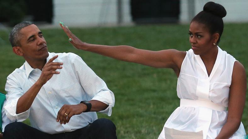 Michelle Obama sokkal jobb fejnek tartja magát férjénél / Fotó: Northfoto