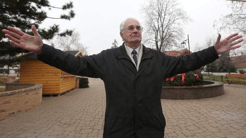Az én világom! Kopeczky Lajos, aki fiatalságát  Ferencvárosban töltötte, otthonra lelt Erdőkertesen is