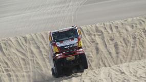 Dakar 2013: Hołowczyc zawiedziony, Sainz utknął na wydmach (2. etap, wyniki, galeria)