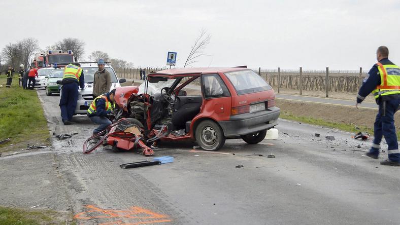 Halálos áldozata is volt a balesetnek / Fotó: MTI