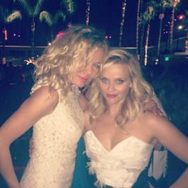 Kasia Wołejnio na jednej imprezie z Reese Witherspoon i Sofią Vergarą