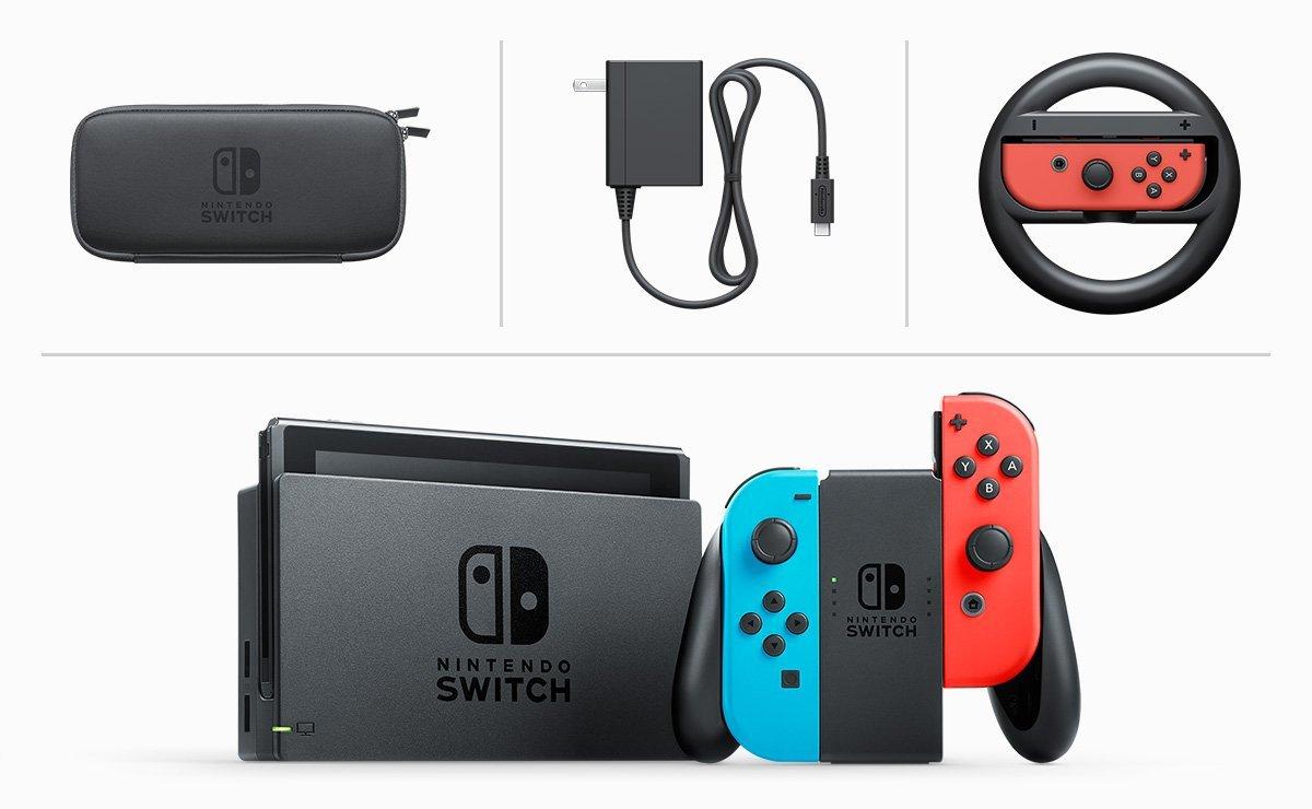 Ku konzole Nintendo Switch sa predáva i doplnkové príslušenstvo.
