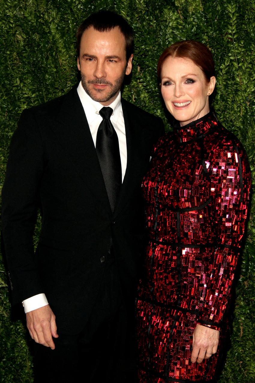 Julianne Moore i Tom Ford CFDA / Getty Image