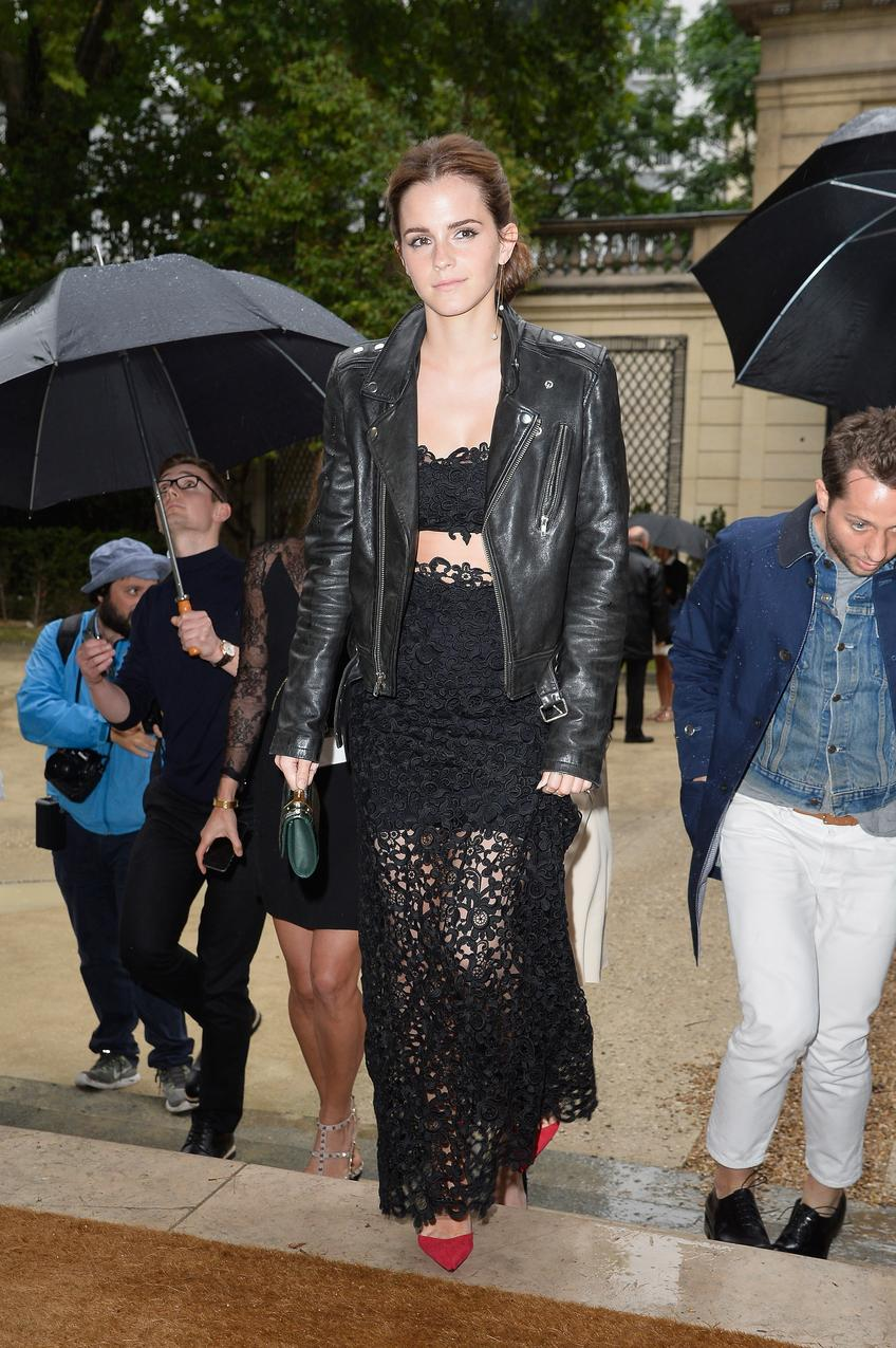 Emma Watson w komplecie Valentino / fot. Getty Images
