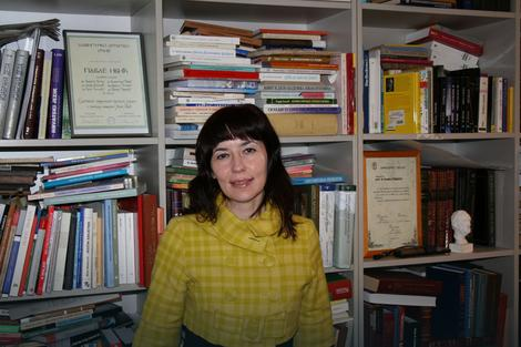 Rajna Dragićević, profesorka Filološkog fakulteta u Beogradu