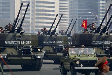 Vojna parada u Pjongjangu