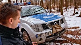 Nissan Pathfinder 2.5 - W służbie policji