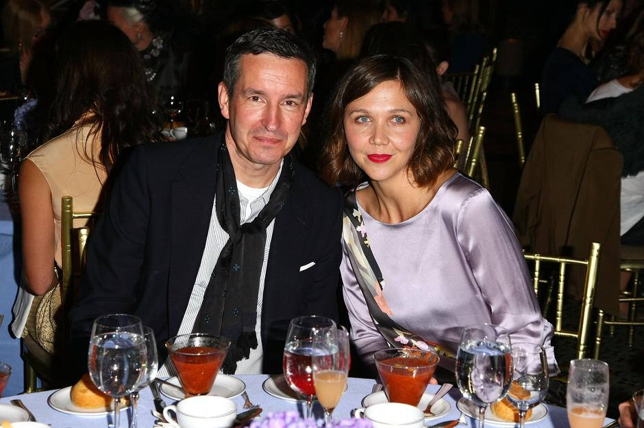 Dries van Noten i aktorka Maggie Gyllenhaal / Getty Images
