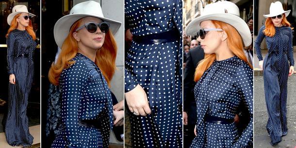 Best Look: Lady Gaga w kombinezonie Martin Grant