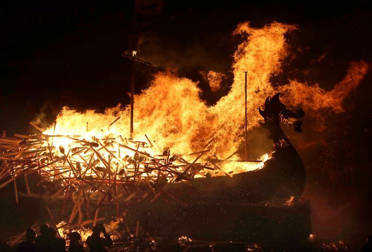 Az ünnep  egyfajta kulturális összeköttetésként működik a skót és az északi népek között. /Fotó: Northfoto