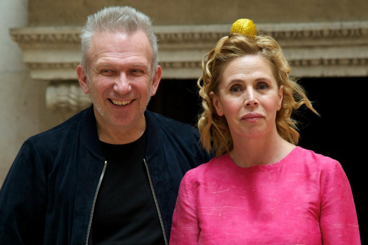 Jean Paul Gaultier i Agatha Ruiz de la Prada / Getty Images