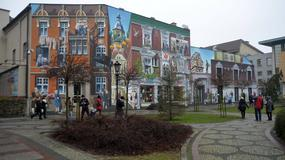 """Murale w Słupsku. """"Prezydent Biedroń chciał w taki sposób ożywić centrum miasta"""""""