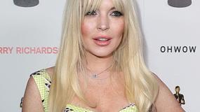 26-letnia Lindsay Lohan wygląda gorzej niż 45-letnia Pamela Anderson