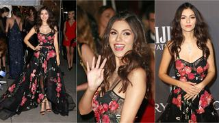 Best Look: Victoria Justice w sukni Marchesa