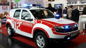 Strażacka Dacia Duster
