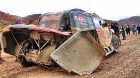 Dakar 2017: horror Toyoty, kamienie w bagażniku Nassera