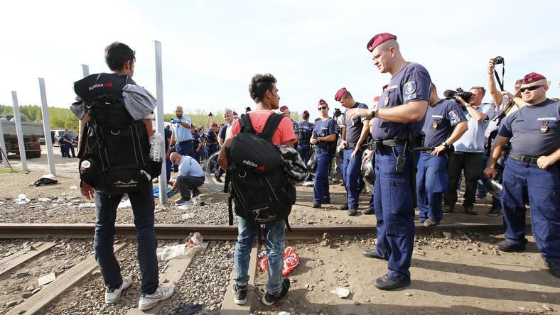 A határ lezárása miatt nőtt meg a feszültség / Fotó: Fuszek Gábor