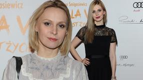 Paulina Holtz i Izabela Zwierzyńska na premierze teatralnej. Kogo kreacja ładniejsza?