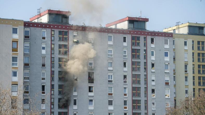 Személyi sérülés nem történt / Fotó: MTI