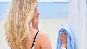 Kasia Tusk: na plaży liczy się minimalizm