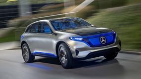 Paryż 2016: elektryczny Mercedes Generation EQ