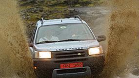 Wyspiarz atakuje, prezentacja Land Rovera Freelandera