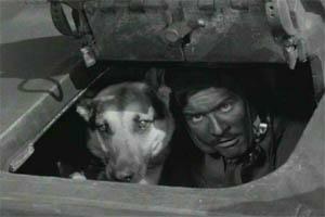 """Kadr z serialu """"Czterej pancerni i pies"""""""