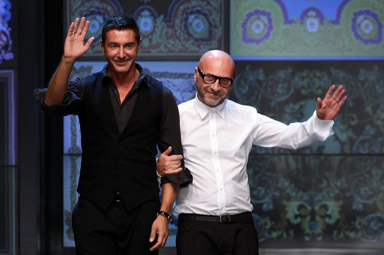 Stefano Gabbana i Domenico Dolce / Getty Images