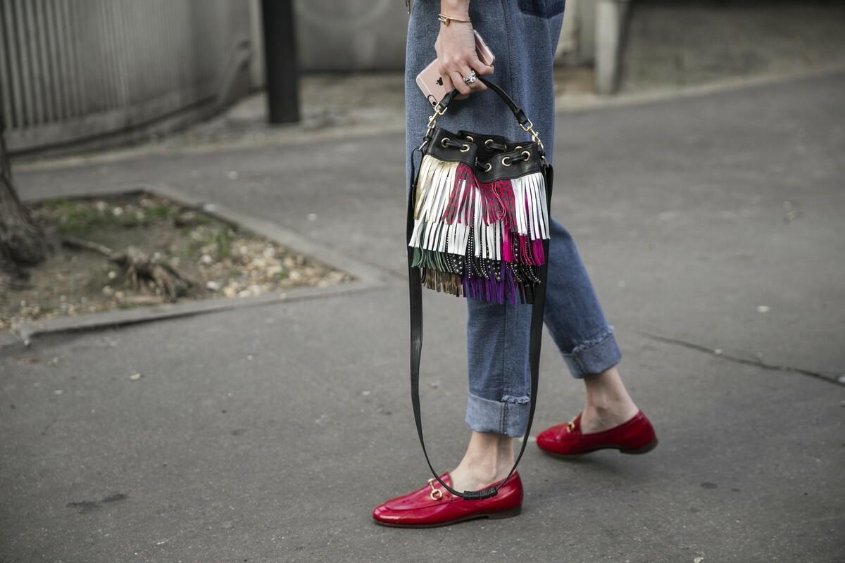 Trendy: czerwone buty