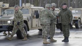 Amerykański konwój wojskowy wjechał do Polski