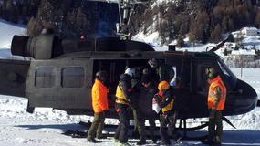 Zagrożenie lawinami na północy Włoch. Trwa ewakuacja turystów z hoteli