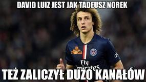 David Luiz bezlitośnie wyśmiany przez internautów - memy po meczu