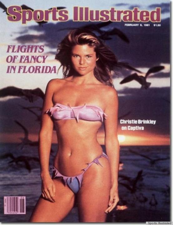 Többször is szerepelt a Sports Illustrated címlapján, ez a kép 1981-es