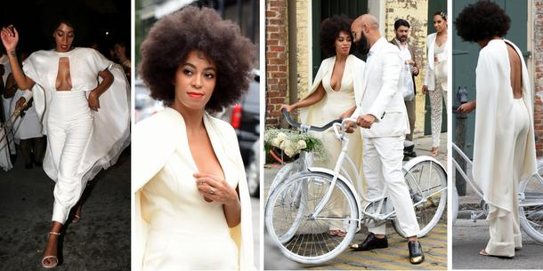 Best Look: Solange w kombinezonie Stephane Rolland