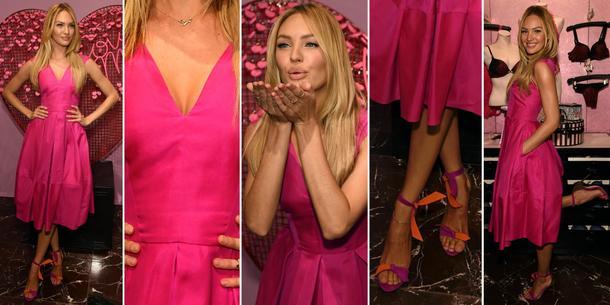 Best Look: Candice Swanepoel w Antonio Berardi