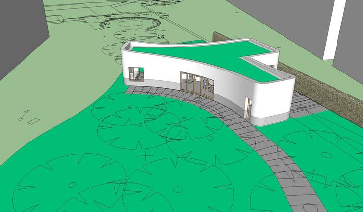 3D nyomtatott ház / Forrás: batiprint3d.fr