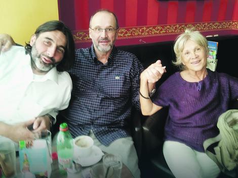 Numan sa Muhamedom Jusufspahićem i  Ružicom Sokić