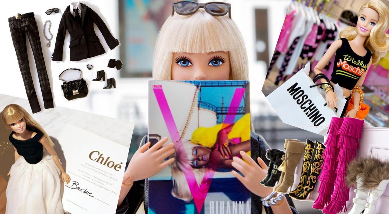 Konto Barbie na Instagramie @barbiestyle
