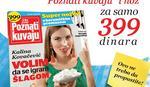 """Magazin """"Poznati kuvaju"""" i keramički nož"""
