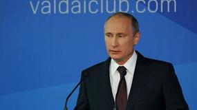 """Putin: USA pragną """"przykroić świat według siebie"""""""