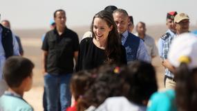 Angelina Jolie przed złożeniem pozwu. Nie wyglądała na smutną