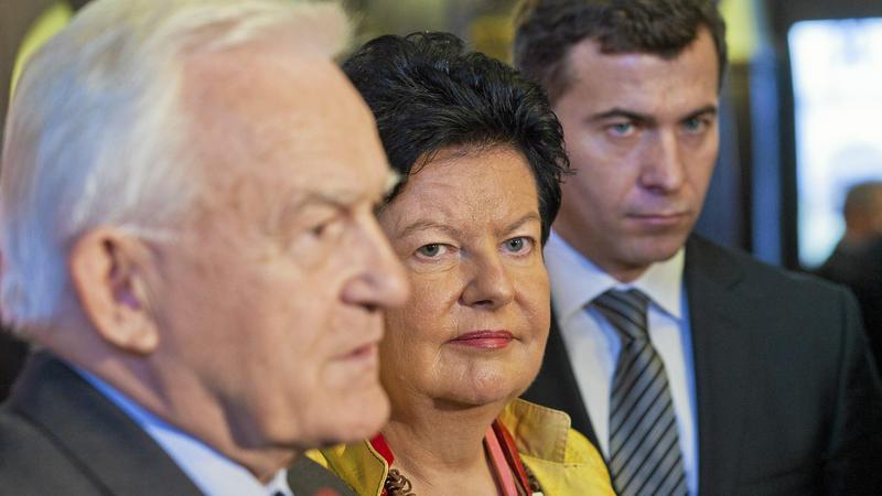 Leszek Miller, Joanna Senyszyn i Wojciech Olejniczak
