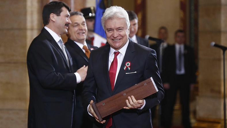 Lukács Sándor nagy megtiszteltetésnek érzi, hogy Kossuth-díjat kapott /Fotó: Fuszek Gábor