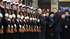 Prezydent Duda na uroczystościach Zaślubin Polski z Morzem