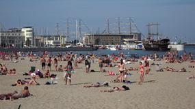 Gdzie nad polskim morzem jest najcieplejsza woda?