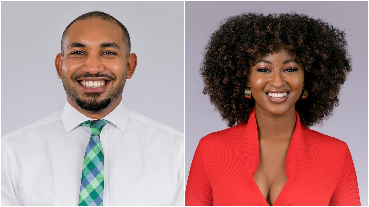 Jeff and KimOprah have been accused of living a fake life in the BBNaija house by ex-housemate, Isilomo. [Multichoice Nigeria]
